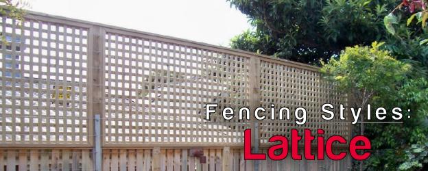 Lattice Fence